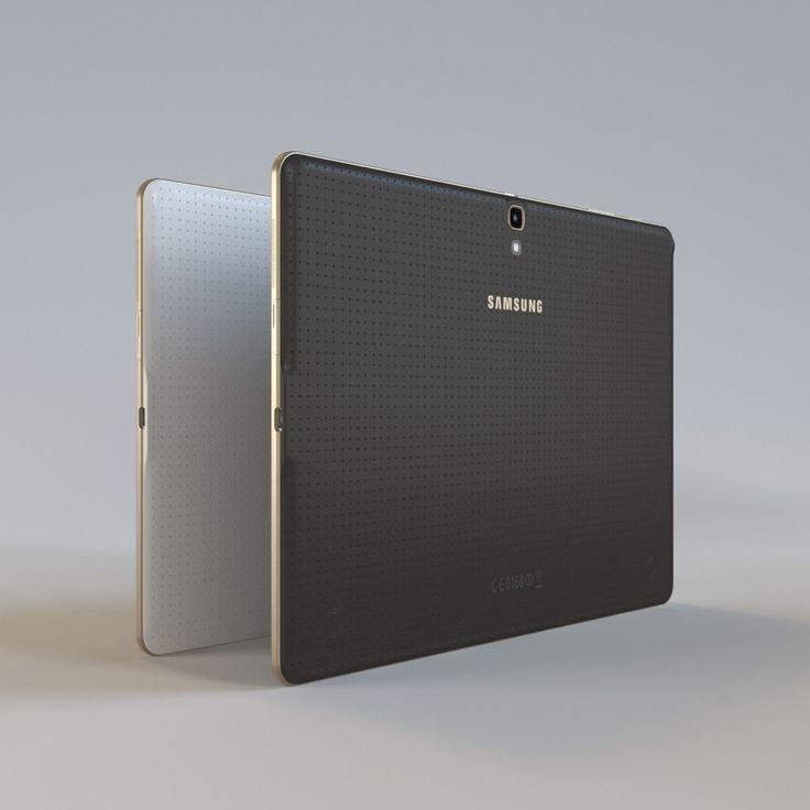 Samsung Tab S Max - 3D Model