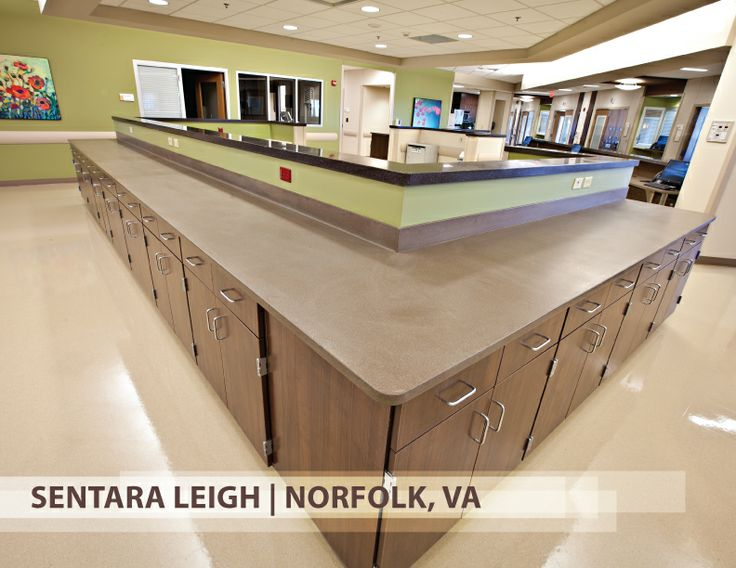 Superior Cupron Enhanced EOS Surfaces At Sentara Leigh, Norfolk VA