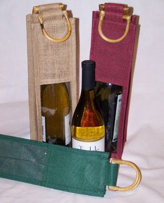 Now it becomes easy to carry bottles with jute bottle bags.choose a bottle bag that suits your style.want to find more.just one click at:http://www.amanasia.com/product.php?cat=jute%20bottle%20bags