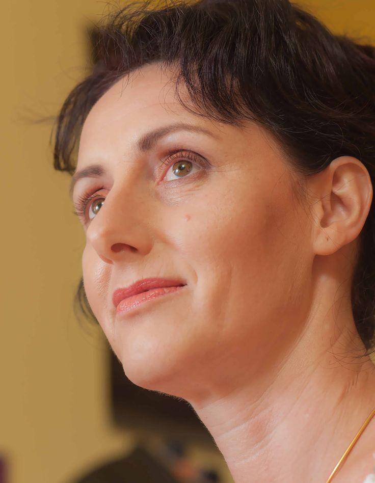 proměna pro Jitku Kozákovou make-up:Pavlína Bečvarovová foto:Michal Bečvarov