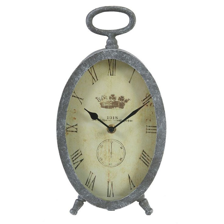 Vintage Wall Clock, Grey