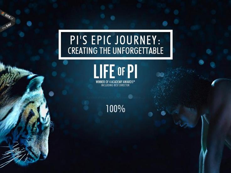 http://journey.lifeofpimovie.com/ Długi scrool, video i zdjęcia w tle
