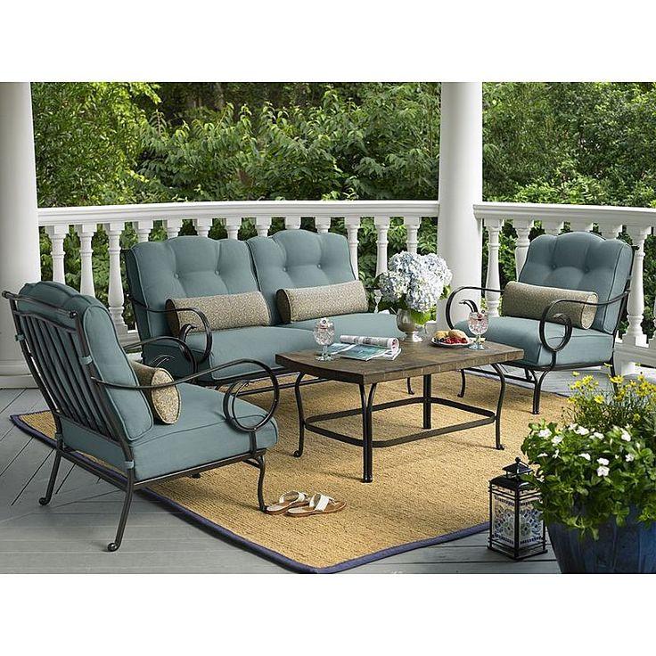 La Z Boy Outdoor Ashville 4 Pc. Seating Set : Sears Outlet