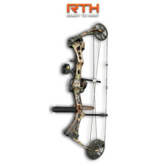 Bear Encounter Bow w/RTH Package - 60# Left Hand APG Camo