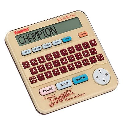 Electronic Scrabble Dictionary