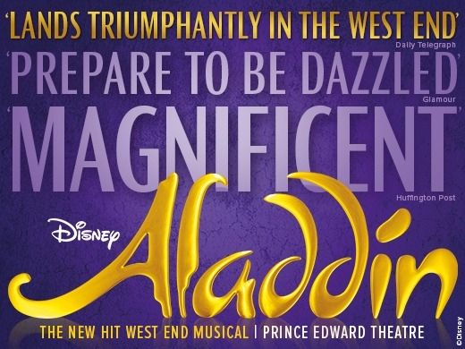 Aladdin – Disney's New Musical tickets - London - £16.93 | From The Box Office