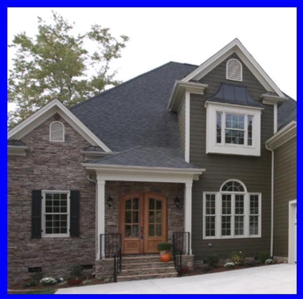 64 best exterior paint colors images on pinterest for Exterior design elements