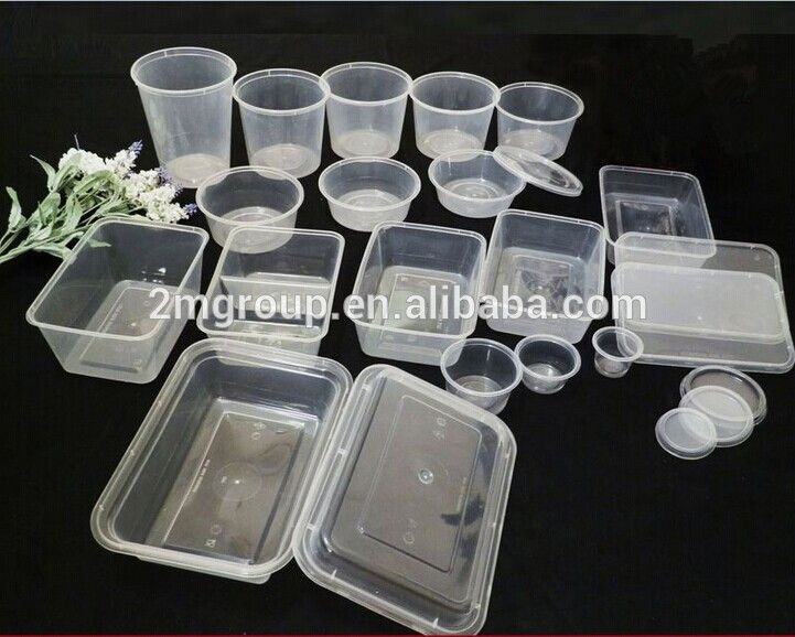 Disposable Plastic Take Away Food Container wholesale