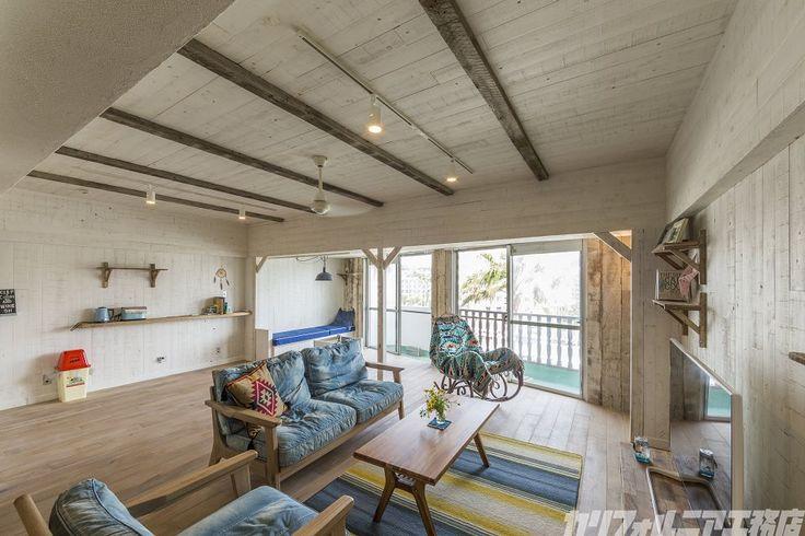 VINTAGE BEACH HOUSE in 逗子 | カリフォルニア工務店