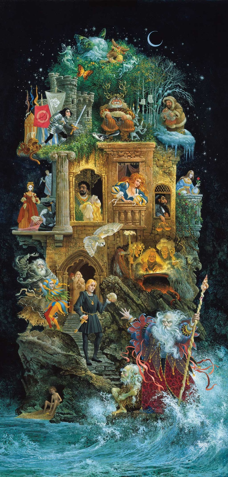 William Shakespeare (art by James Christensen)