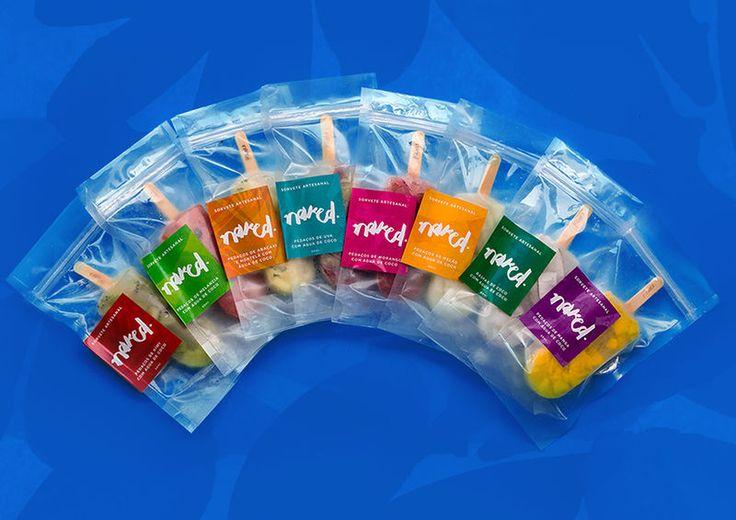 Revealing Popsicle Packaging : Fresh Ingredients