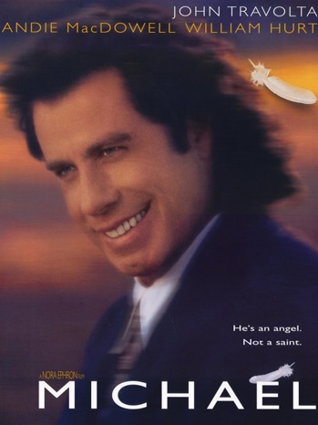 Michael John Travolta. Cute, but very sad ending. All in all a good movie. Give it a shot. If your a woman!