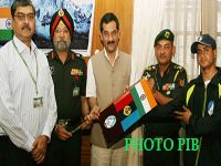 Minister of State for Defence Jitendra Singh has said that without maintaining discipline and directions they cannot achieve any goal. He also congratulated the team members for attempting a very prestigious and difficult mission. He flagged off the off 18 members NCC Mount Everest Mountaineering Expedition-2013 in New Delhi.