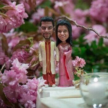На заказ индийский свадебный торт ботворезы традиционный индус наряд торт топпер свадебные украшения праздничные атрибуты ну вечеринку декор сувениры