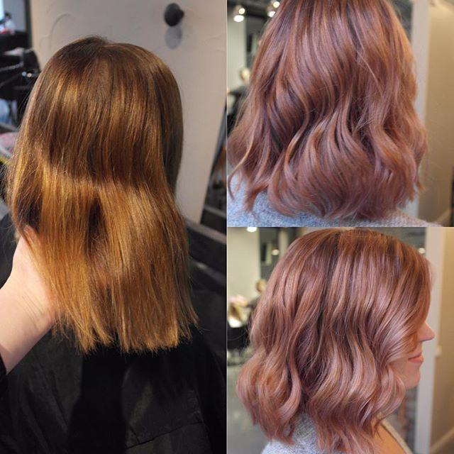 #rosegold #hair #hairbyelisa #hairdesignfactory #elyciaturku #easyjazzyhip #blonde