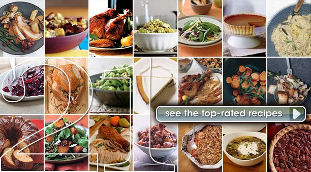 21 Top-rated Thanksgiving Recipes: Turkey, Stuffing, Side Dishes, and Desserts