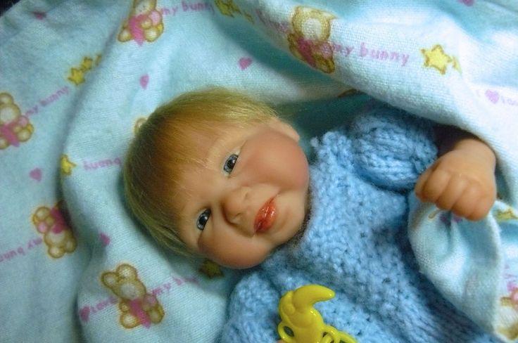OOAK Original Artist Sculpt Polymer Clay Art Doll 8 inch - Baby Boy Bromley   eBay
