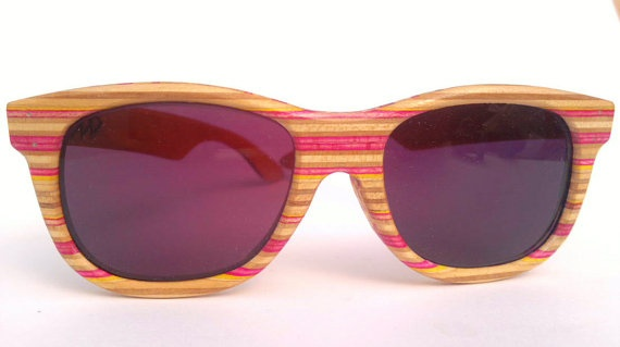 Pink and Yellow Colour way by Sk8Shades on Etsy, $120.00