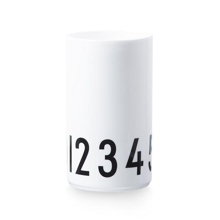 Via &Klevering | Design Letters Vase | Arne Jacobsen Lettering