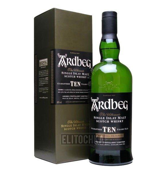 Ardbeg 10 Years Old 1L (Ардбег 10 лет 1л)
