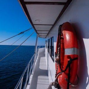 Aboard Rocio del Mar during WEPA expedition