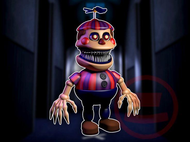 nightmare balloon boy finished herogollum by herogollum