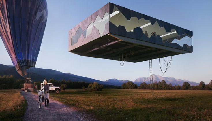 Flying House _ FlyingArchitecture