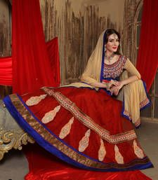 Buy Best Deal Designer Green Embroidered Jacquard Fancy Lehenga with Blouse ghagra-choli online