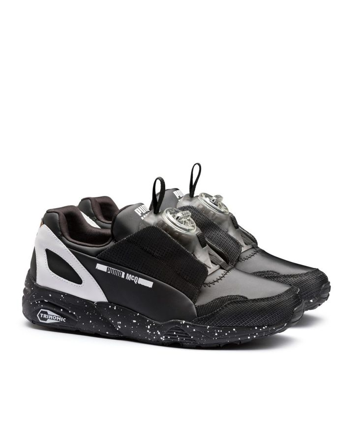 Sportswear brand PUMA has linked up with British contemporary label McQ on  a new collection of collaborative footwear.