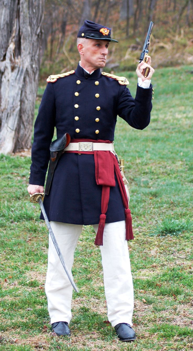 1859 US Marine officer, undress