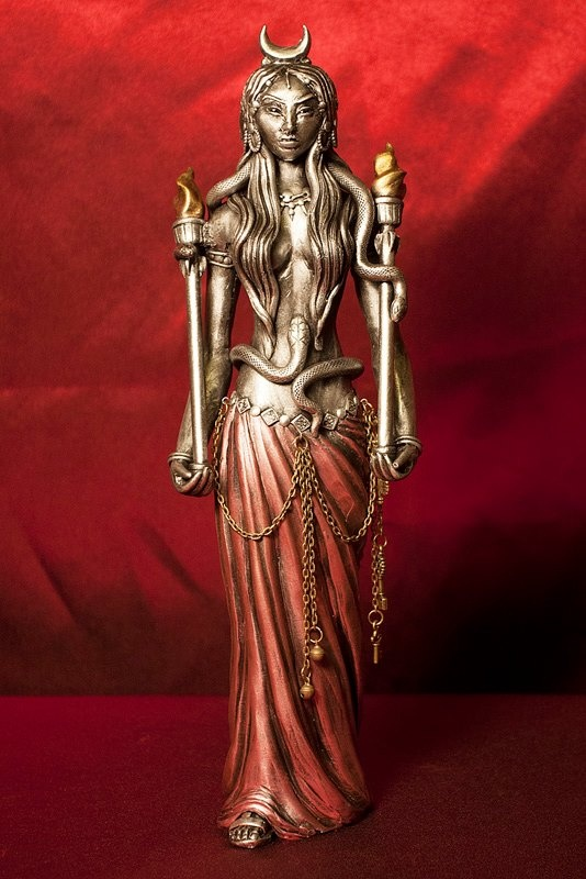 Hekate: Greek goddess of magic and witchcraft