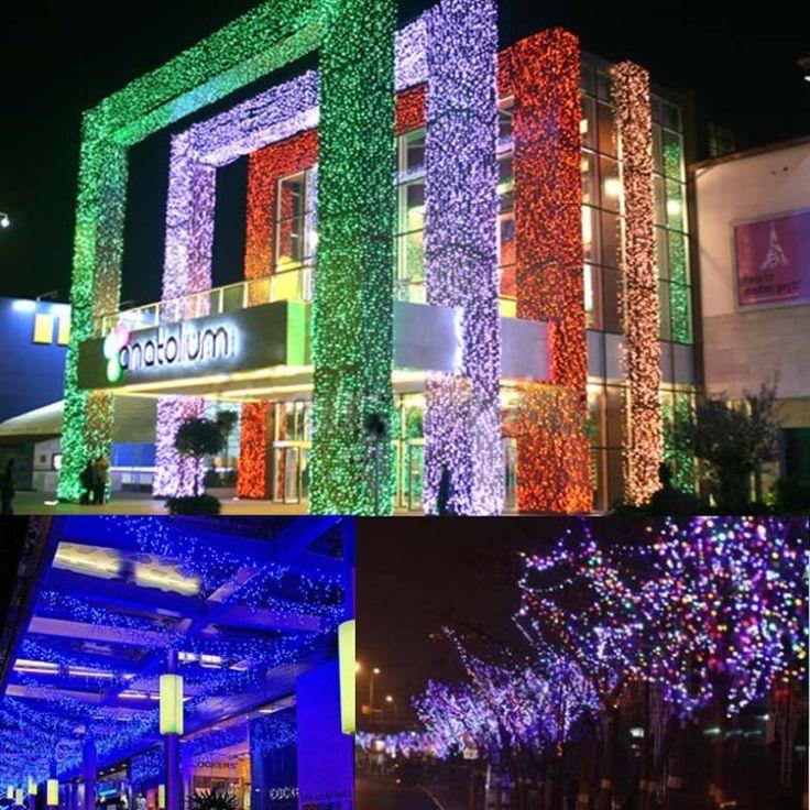 Новогоднее украшение 100 светод. 30Ft 10 м рождественская елка фея строка ну вечеринку огни свадебные фонари