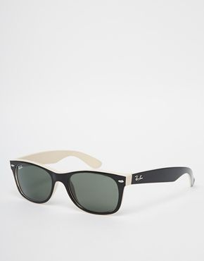 Ray-Ban New Wayfarer Sunglasses $129 at lenscrafters were my jam!