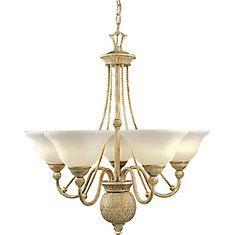 Savannah Collection Seabrook 5-light Chandelier
