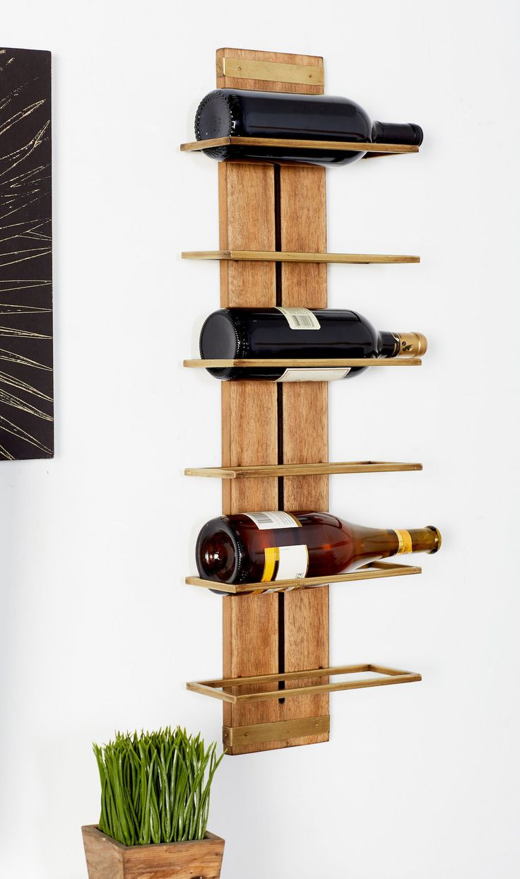 stylist kitchen table with wine storage. Canon Wood and Metal Wine Rack  Unconventional stylish 100 best Creative Kitchens images on Pinterest
