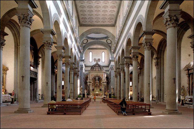 Santo Spirito, Brunelleschi 1430-1480