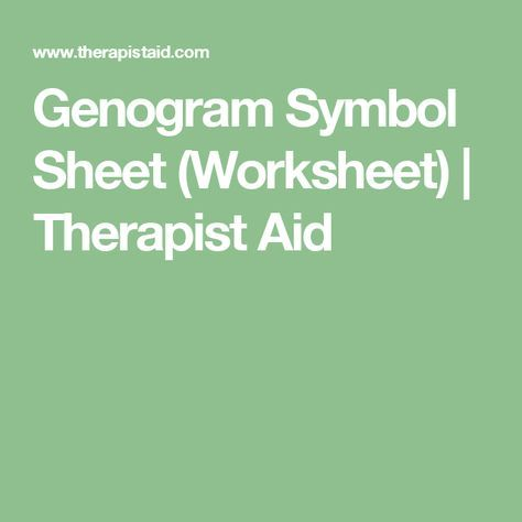 20 Best Genogram Images On Pinterest Family Therapy Therapy Tools