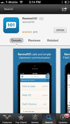 remind 101 app 1 way texting reminders parents cant text back