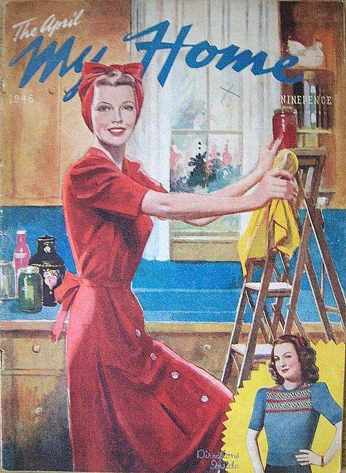 Vintage Chic: Cover Girls: April 1946