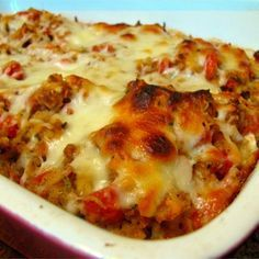 """Bruschetta Chicken Bake I """"The fastest, easiest recipe I've discovered for chicken in ages!"""""""