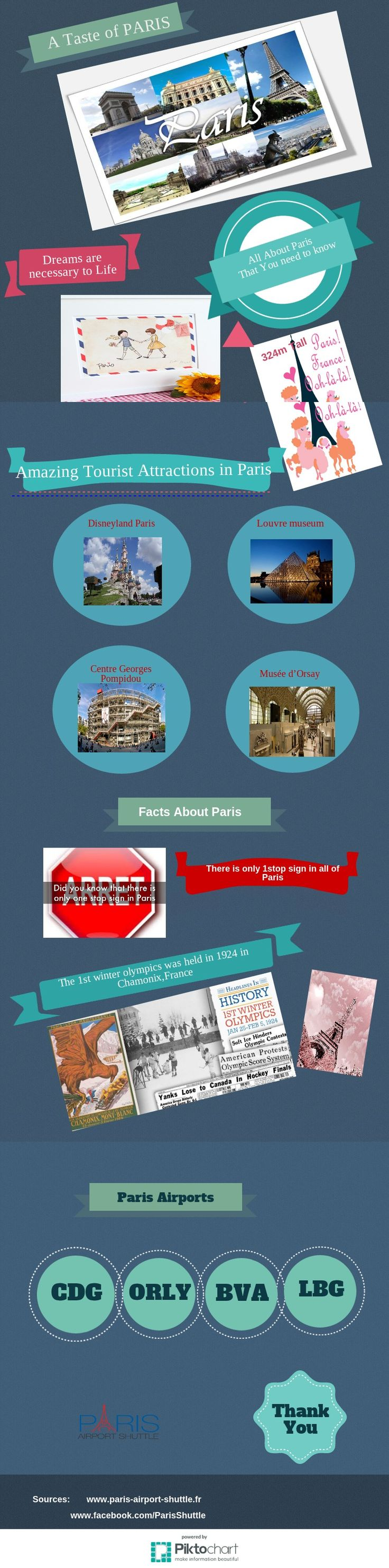 Know About #Fun Fact in #Paris: #Infographics  #Paris is a wonderful city of France where you can get the Practical information by the #infographic. You can come and enjoy all things in Paris with help of Guide and tourist information about Paris airports.  Visit this Infographic: https://magic.piktochart.com/output/8486189-paris-city-tour