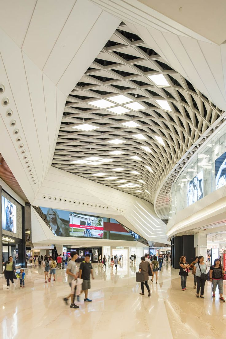 Yoho mall ceiling pinteres for Indoor roof design