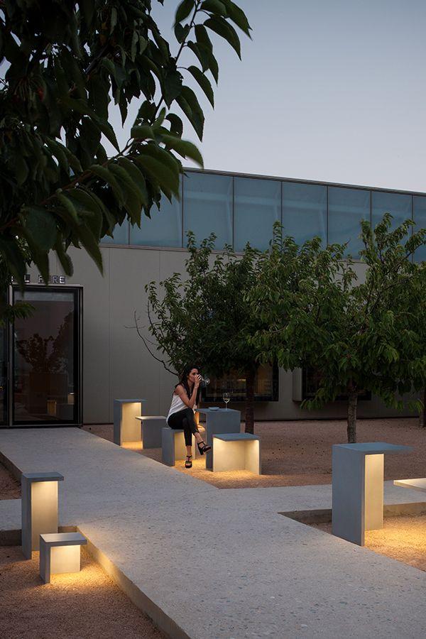 Vibia Empty Bodenleuchte Aussenboden Solarleuchten Garten Aussenlampe