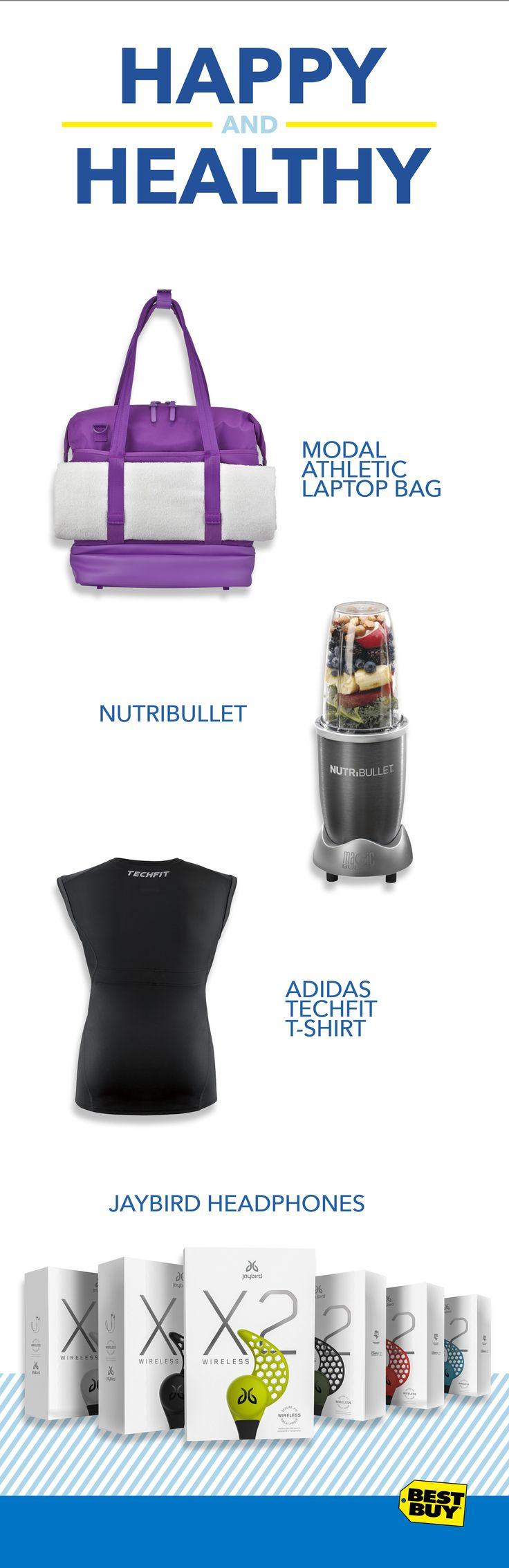 Still need to find the perfect gift? Best Buy's gift Ideas have everything you want for that fitness guru in your life.