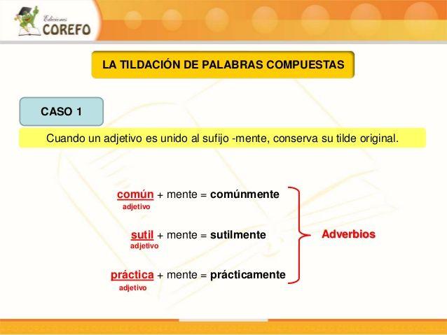 FORMACION DEL ADJETIVO - Buscar con Google