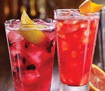 Blueberry-Pom long island iced tea  Sooooo YUMMMY!!!
