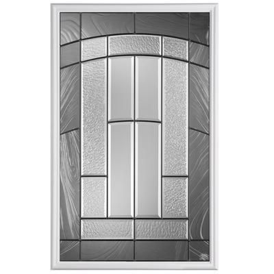 Masonite 22x36 croxley 1 2 lite glass insert home depot canada arch follows the arch in for Home depot canada doors exterior