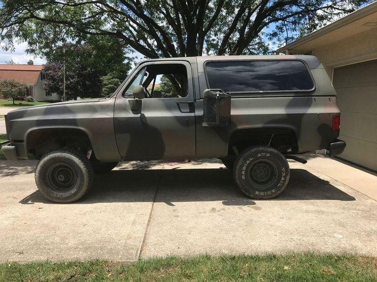 no issues 1984 Chevrolet Blazer military