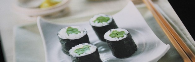 Want to learn more about making your own sushi?  Check out this list of the top ten sushi books to help you learn how to make sushi at home.