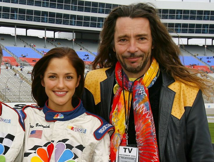 Minka Kelly and her father Rick Dufay (Aerosmith guitarist) « CBS ...